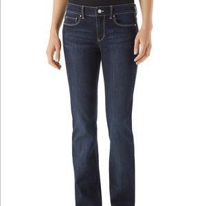 White House Black Market Blanc Blue Jeans 2